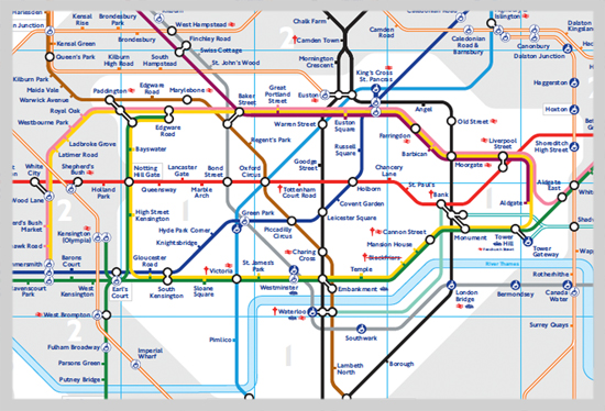 London Underground Transit map